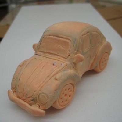 Automóvel em acabamento