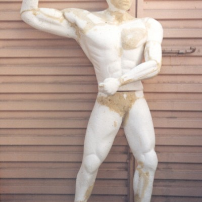 Cliente:BETO CARRERO WORLD ( FAMILIA TARZAN/ INDIOS) Mídia: Exposição Tipo: Escultura, Boneco Ano: 1997 Técnica: Escultura em Isopor Material: Isopor e Poliuretano Rígido Pintura:  Tamanho:  aprox. 2.30 mts.