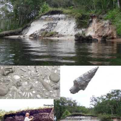 Imagens de referencia de sambaquis