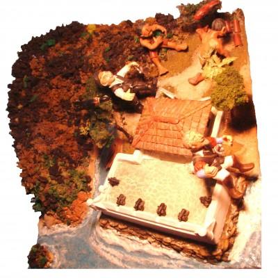 Vista aérea da maquete