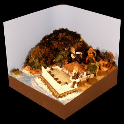 Maquete do Forte de Bertioga