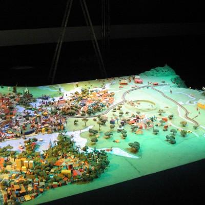 Parelheiro / Cratera existente na região e aldeias indígenas