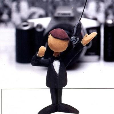 Cliente: Editora Europa ( Revista  Fotografe Melhor) Mídia: Impressa Tipo: Personagem Ano: 1997 Técnica: Escultura Matérial: Styrofoam ( Polietireno Expandido) Tamanho: 6 cm