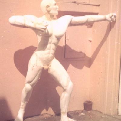 Cliente:BETO CARRERO WORLD( FAMILIA TARZAN/ INDIOS) Mídia: Exposição Tipo: Escultura, Boneco Ano: 1997 Técnica: Escultura em Isopor Material: Isopor e Poliuretano Rígido Pintura:  Tamanho:  aprox. 2.30 mts.