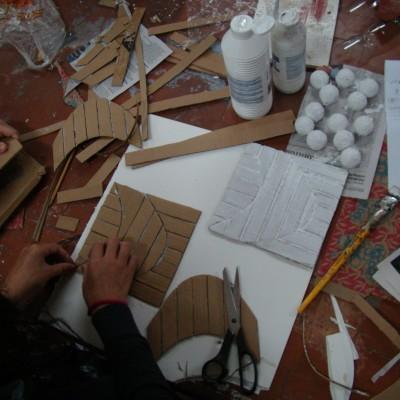 Processo de confecção de lajotas