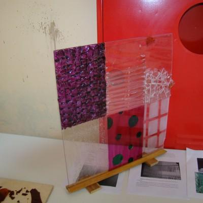 Experimento- Vidro formas graficas