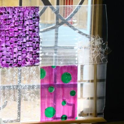 Experimento- Vidro formas graficas/ Estudo de Luz