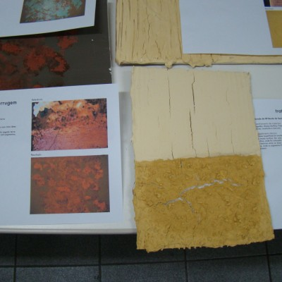 Testes de textura / Paredes