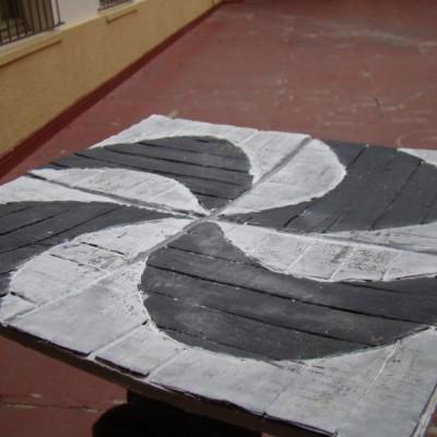 Lajota Angulada / Estudo de Textura