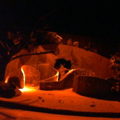 O Labirinto do Minotauro- Estudos de iluminação