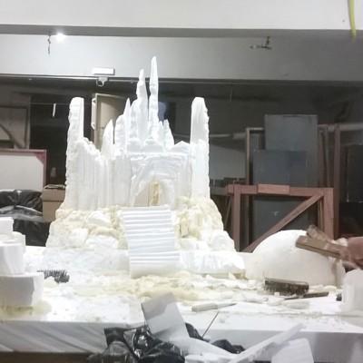 Escultura em processo
